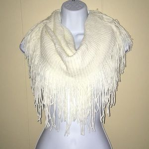 Infinity off white scarf